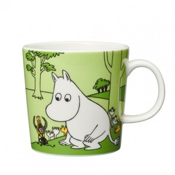 Kubek Muminki 300 ml Moomintroll Grass Green
