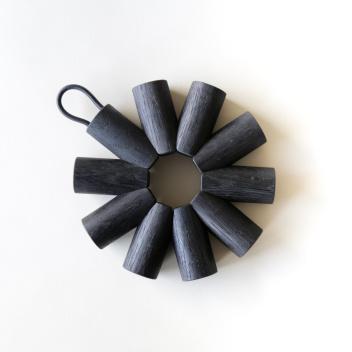 Podkładka pod gorące naczynia BLACK OAK TRIVET 4x18 cm