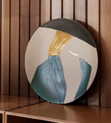 Talerz dekoracyjny 37,5 cm DAYO Ceramic Platter