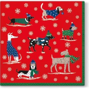 Serwetki papierowe świąteczne 33x33 TAT Winter Pack