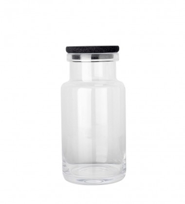 Pojemnik Viggo Glass Container 12x14x29 cm Clear
