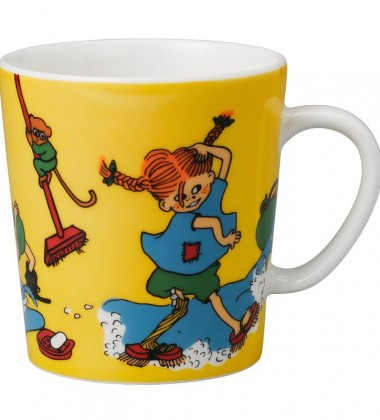 Kubek z porcelany 300 ml Pippi By Herself