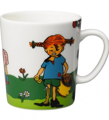 Kubek z porcelany 300 ml Pippi Thing-finders