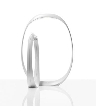Lampa stołowa Anisha Grande LED Biała