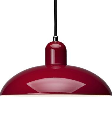 Lampa wisząca Kaiser Idell Czerwona