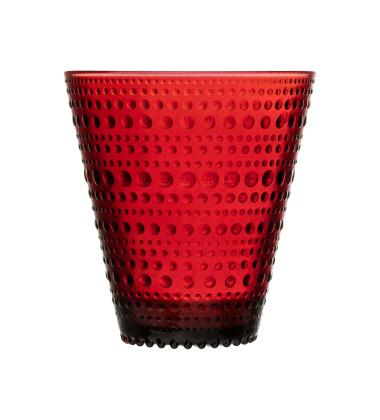 Szklanki Kastehelmi tumbler 30 cl Cranberry Set 2