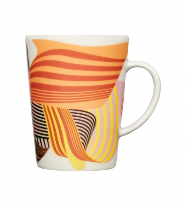 Kubek z porcelany Graphics Mug 400 ml SOLID WAVES