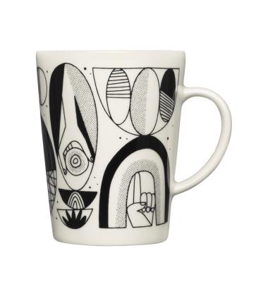 Kubek z porcelany Graphics Mug 400 ml SHAPED-SHIFTED