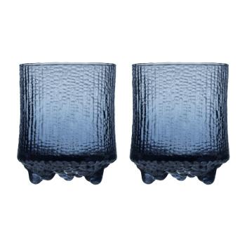 Komplet 2 szklanek Ultima Thule Rain 200 ml Set 2 Niebieskie