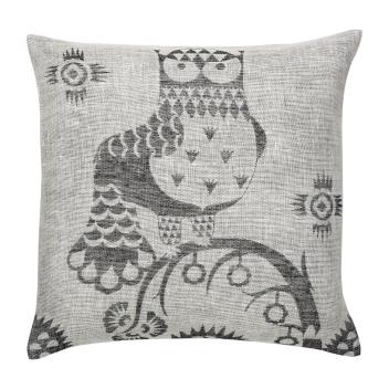 Poduszka lniana Taika cushion cover 50x50 cm Szara