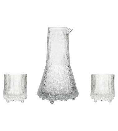 Komplet karafka i 2 szklanki Ultima Thule 200 ml i 500 ml Set 3 Clear