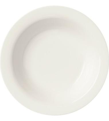 Talerz głęboki Sarjaton Deep 22 cm Biały