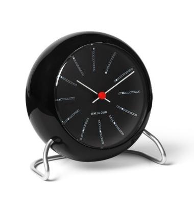 Zegarek Budzik AJ Bankers Table Clock Czarny
