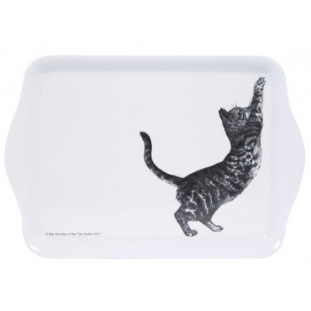 Taca z melaminy 21x14 Casual Cats Scratching Kotki