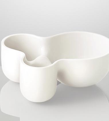 Misa ceramiczna 25,5x13x34 VITAMIN CONTAINER Biała