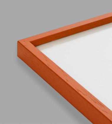 Ramka drewniana 50x70 Mado Pomarańczowa