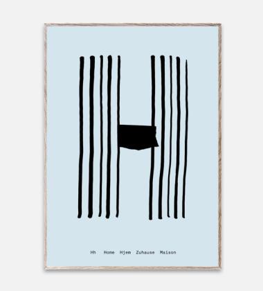 Poster 30x40 SPAGHETTI - H by Mado Niebieski