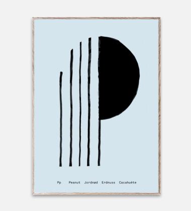 Poster 30x40 SPAGHETTI - P by Mado Niebieski