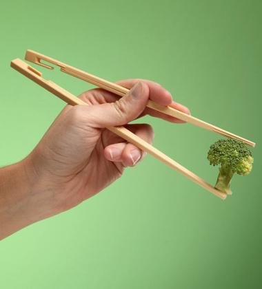 Pałeczki plastikowe EASY USE KITASTICK LINKING CHOPSTICKS Beżowe