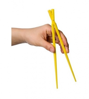 Pałeczki plastikowe EASY USE KITASTICK LINKING CHOPSTICKS Żółte
