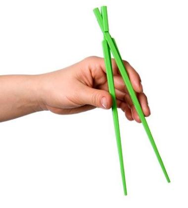 Pałeczki plastikowe EASY USE KITASTICK LINKING CHOPSTICKS Zielone
