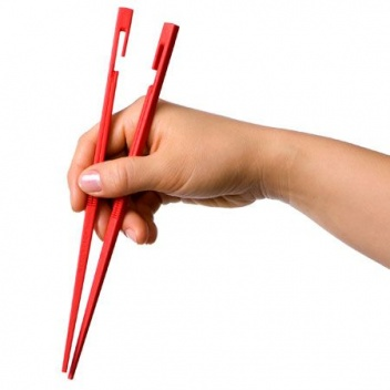 Pałeczki plastikowe EASY USE KITASTICK LINKING CHOPSTICKS Czerwone