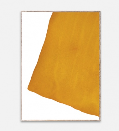 Poster 50x70 Ensõ Yellow 1 By Norm Architects