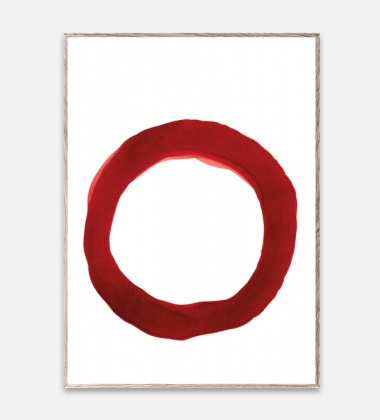 Poster 50x70 Ensõ Red 4 By Norm Architects
