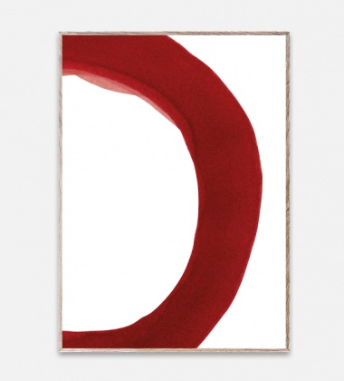 Poster 50x70 Ensõ Red 2 By Norm Architects
