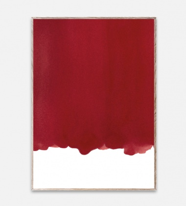 Poster 50x70 Ensõ Red 1 By Norm Architects