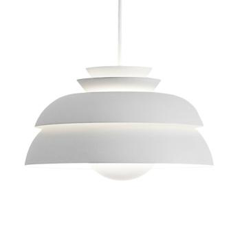 Lampa wisząca Concert P1 32 cm Biała