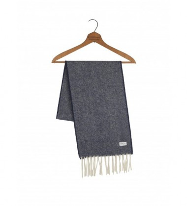 Szalik Lindo Lenco Wool Scarf 150x25 Granatowy