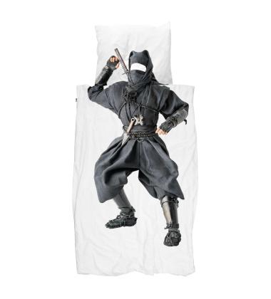 Pościel bawełniana z wojownikiem ninja 140x200 NINJA