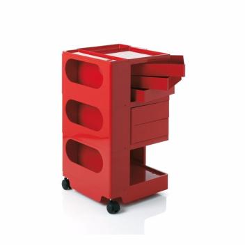 Kontenerek Boby Trolley Storage Unit B35 Czerwony
