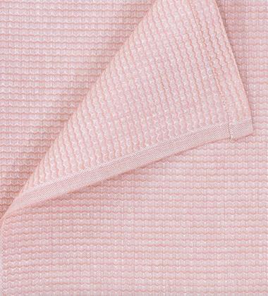 Ręcznik lniany KUMPU 70x150 Różowy