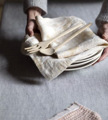 Ścierka kuchenna TULPPAANI 46x70 Złota