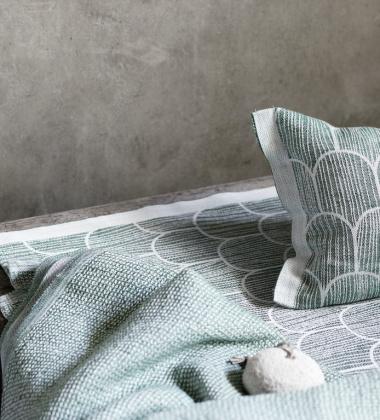 Ręcznik kąpielowy Terva 65x130 Aspen Green