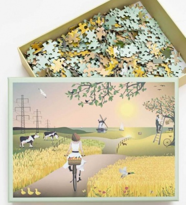 Puzzle 1000 A FINE DAY - JIGSAW by ViSSEVASSE