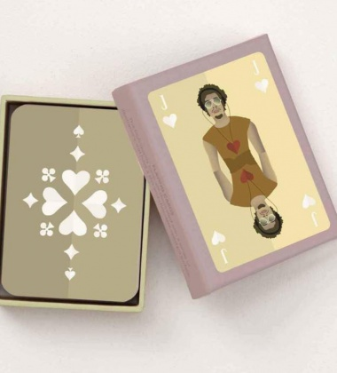 Karty do gry PLAYING CARDS 02 BOY by ViSSEVASSE