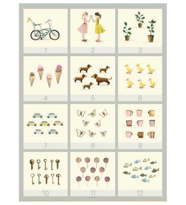 Poster 50x70 123 By ViSSEVASSE