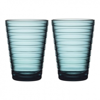 Szklanki Aino Aalto 330 ml Set of 2 Morski
