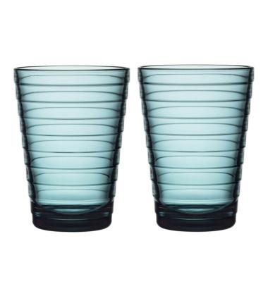 Szklanki Aino Aalto 330 ml Set of 2 Morski