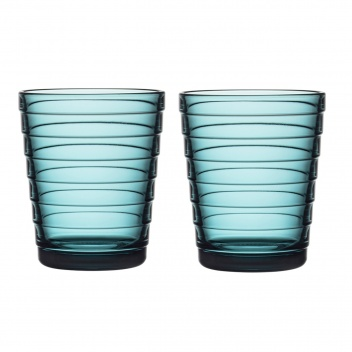 Szklanki Aino Aalto 220 ml Set of 2 Morski