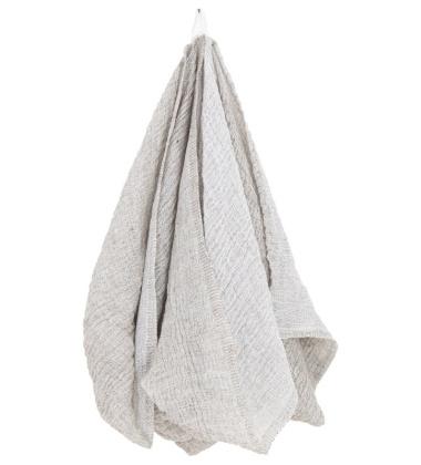Ręcznik z gniecionego lnu NYYTTI 95x180 Lniany