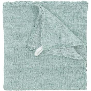 Ręcznik z gniecionego lnu NYYTTI 38x38 Morski
