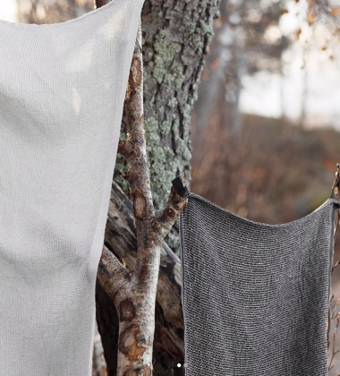 Ręcznik TERVA 48x70 Biało-Lniany