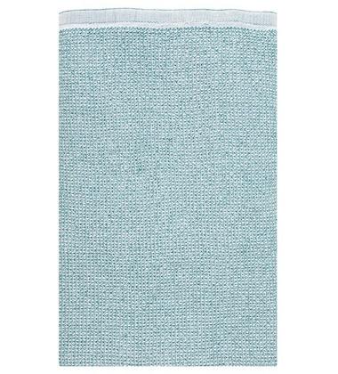 Ręcznik kąpielowy TERVA 85x180 Biało-Turkusowy