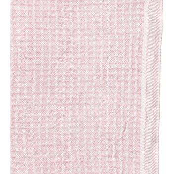Ścierka kuchenna Maija Dish 25x32 Biało-Różowa