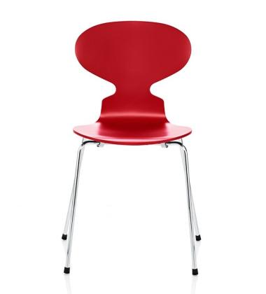 Krzesło ANT Ash 4-legs Czerwone