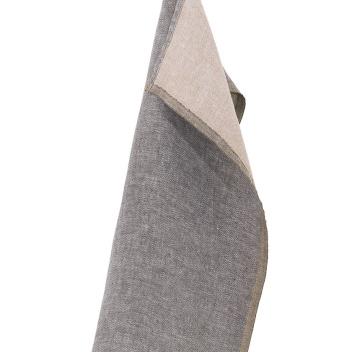 Ścierka kuchenna DUO 48x70 cm Brązowo-Cynamonowa